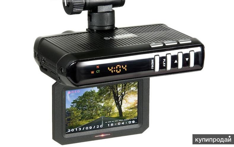 Видеорегистратор 3 в 1 – реальная страховка на дорогах! Доставка по СПБ и РФ!
