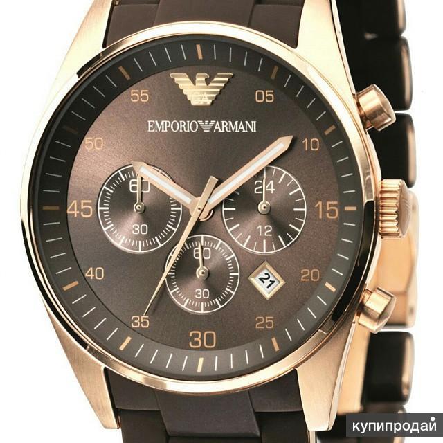 Часы emporio armani мужские копия хорошем качестве