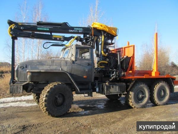 Лесовоз Урал 2016 г.в. с кму Омтл-97 от завода изготовителя