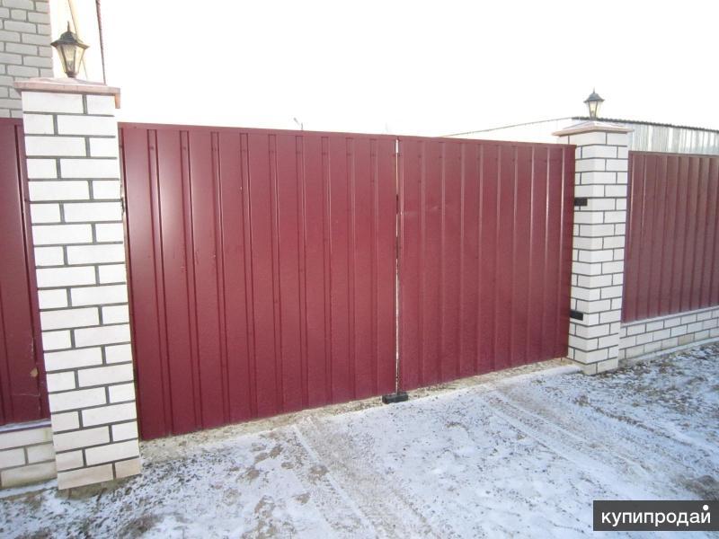 заборы и ворота для дачи в твери