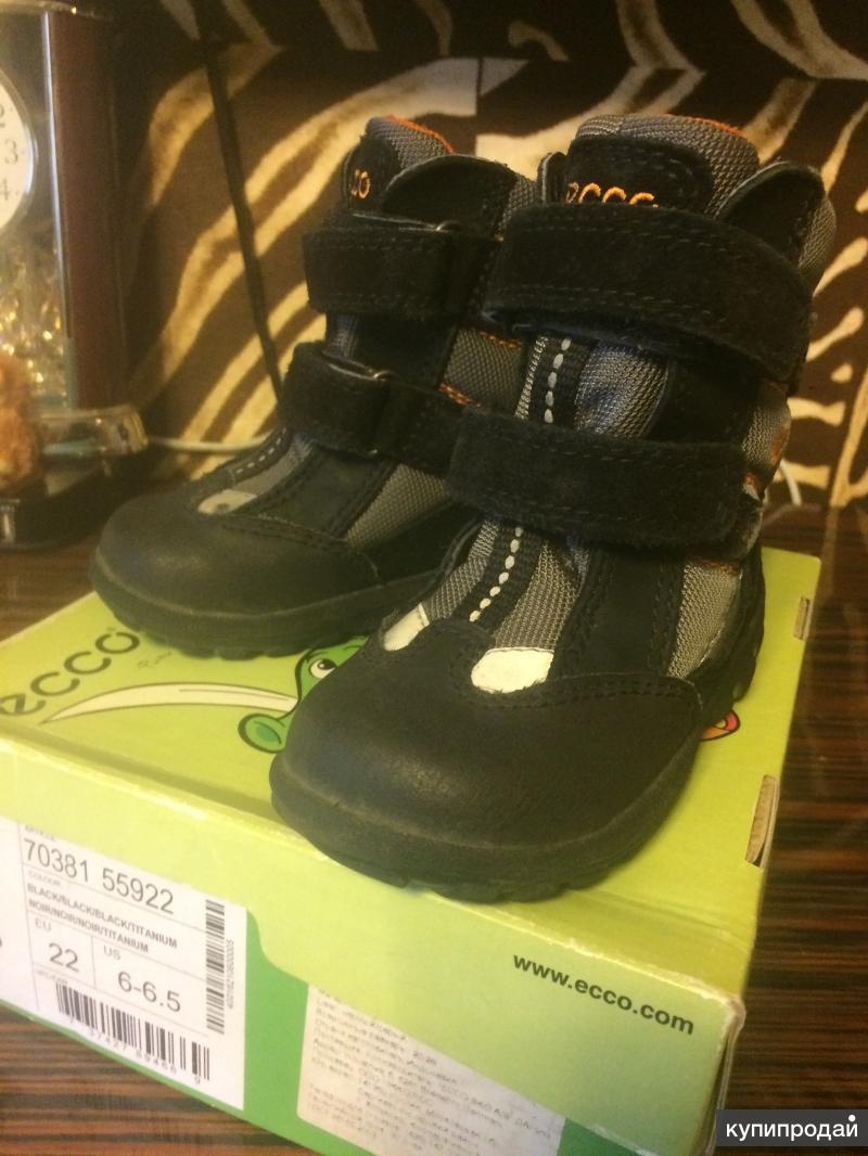 Ботиночки ECCO ,зима.раз22