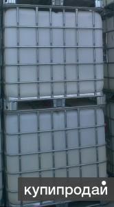 Продам Емкость 1 м3 б/у . для хранения нефтепродуктов еврокуб