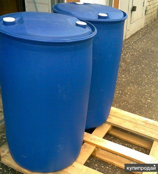 Бочки пластик 225 л б/у для транспортировки пищевых нужд