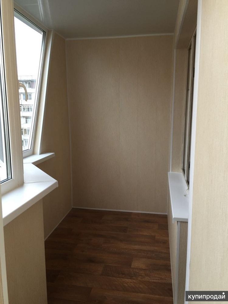 Остекление лоджий, балконов. отделка, утепление - строительс.