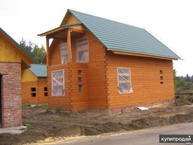 Строительство монтаж дома из бруса.Тюмень.Дом баня цена.