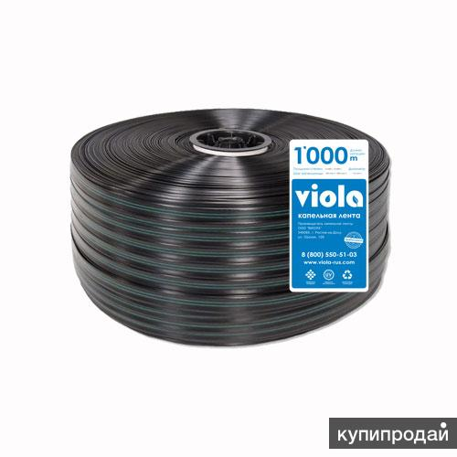 Капельная лента Viola-STANDART 8/100 - бухта 1000 метров