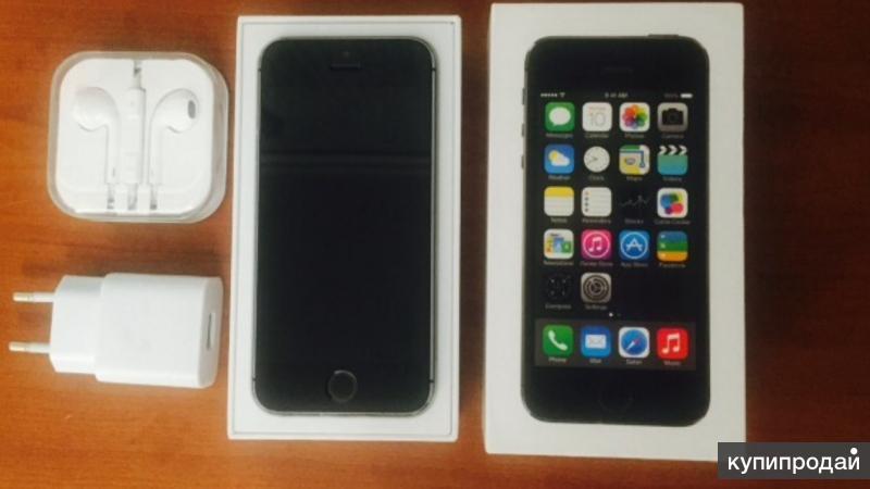 Продам iPhone 5s 16 gb space grey