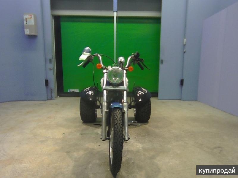 Honda Jazz Trike  крутой под старину молодежный малокубовый трайк