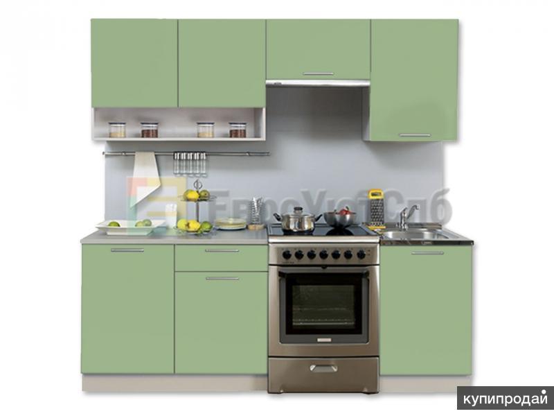 Модульная кухня Симпл 2100 с нишей от Боровичи-мебель