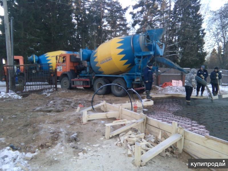 Профессионально фундамент зальём,быстро и качественно построим/отремонтируем