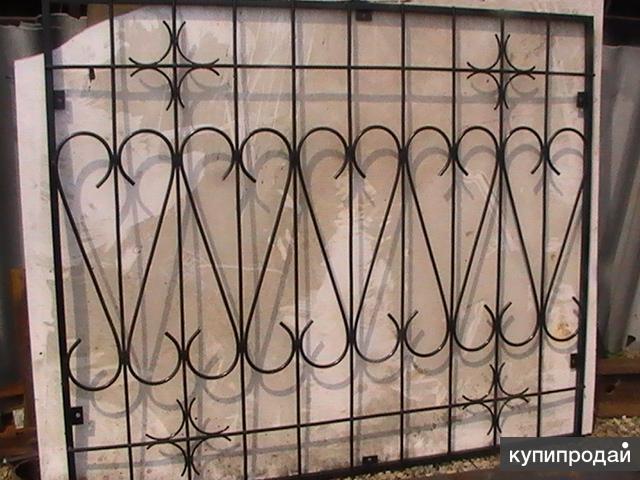 металлические решетки ворота двери