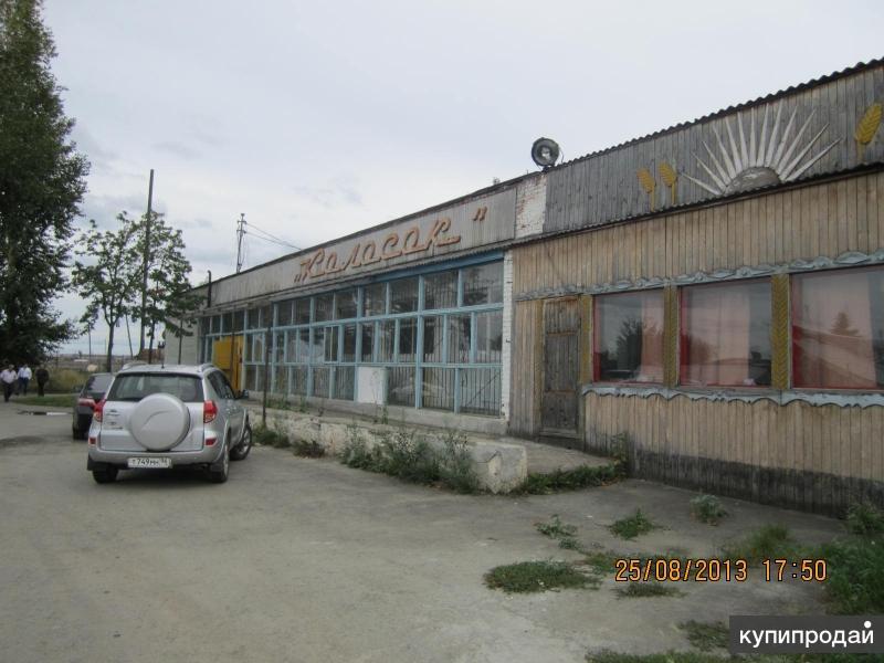 Одноэтажное здание, расположенное на земельном участке площадью 3 765 кв.м.