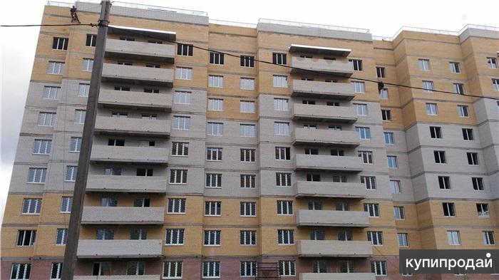 Просторная двухкомнатная квартира в новом доме Метражи комнаты 16,8 и 21.5 кв.м.