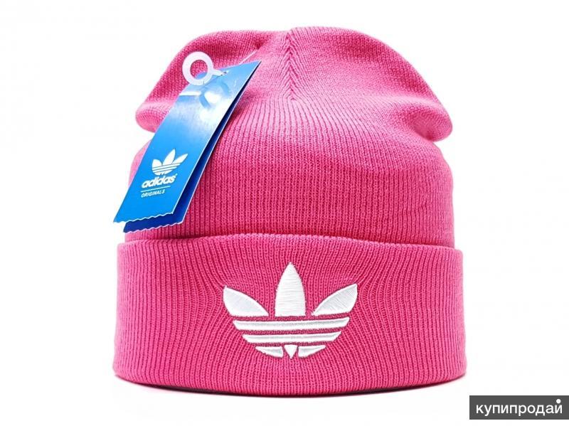 Шапка adidas женская  (flap) розовый
