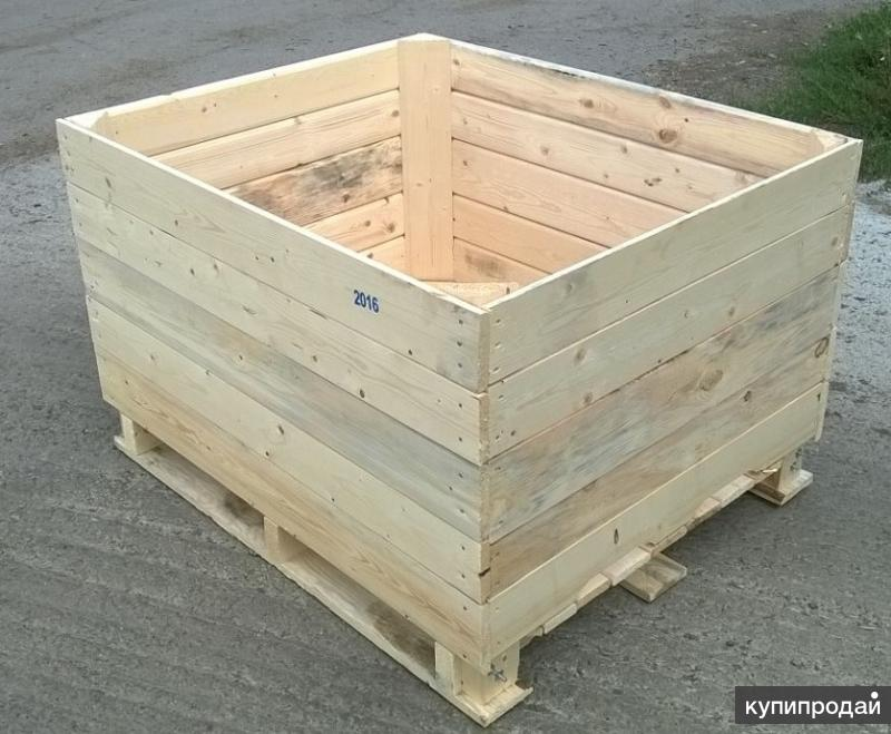 Контейнера деревянные под овощи