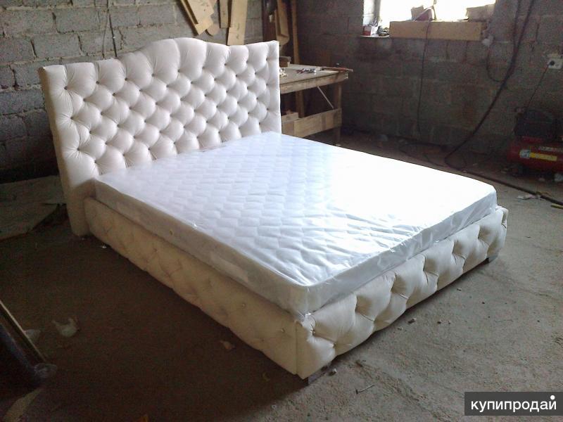 """Дизайнерская кровать """"Флорида"""" в каретной стяжке НОВИНКА!"""