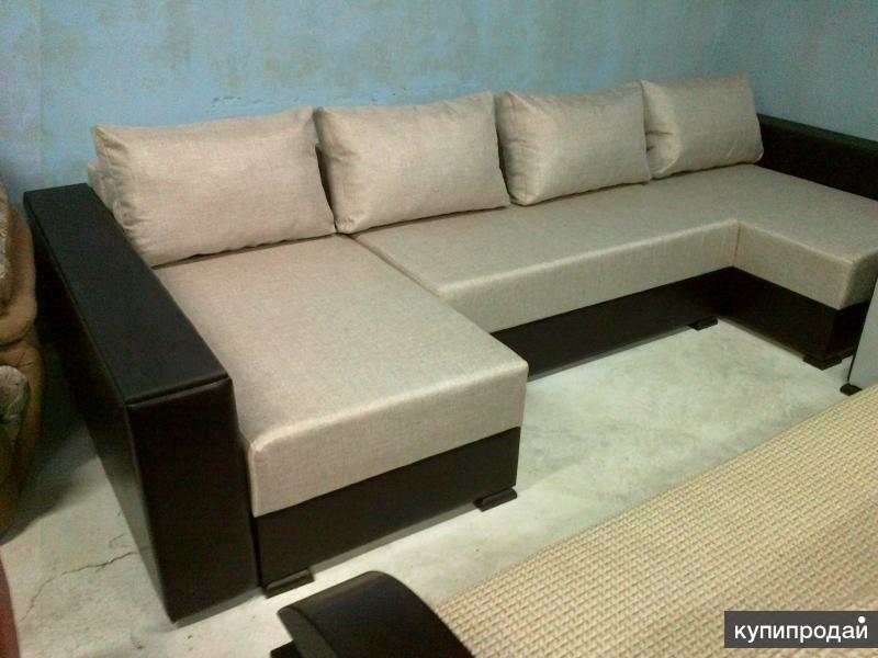 """Большой угловой диван """"Саманта"""" от производителя"""