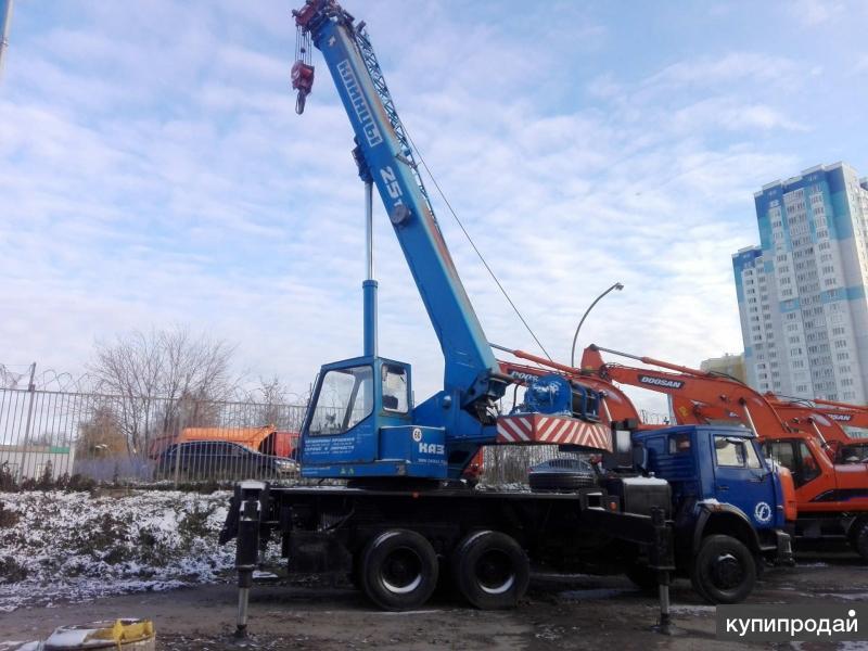 КС-55713-1К-3 на шасси КамАЗ 65115-62, б/у