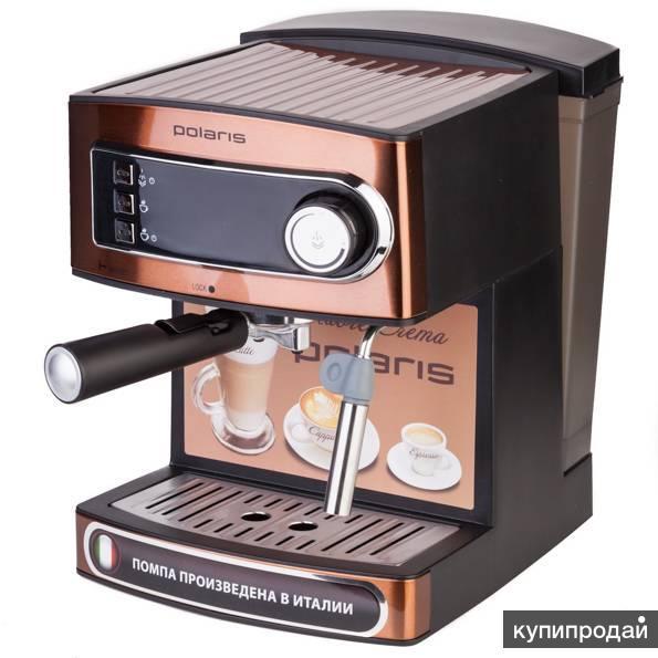 кофеварка эспрессо POLARIS  PCM 1515E