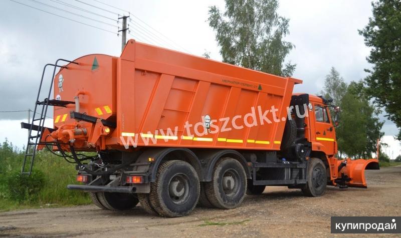 Дорожная машина КДМ-7881.01-11 на базе самосвала КАМАЗ-6520