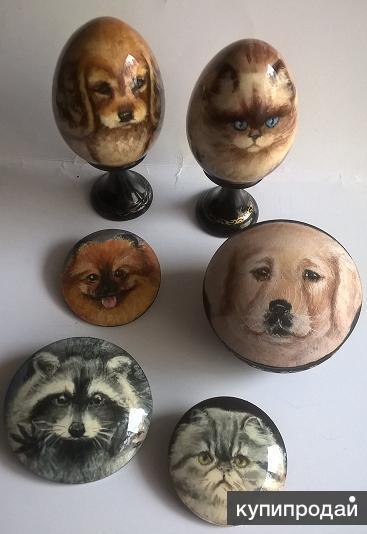 Подарки и сувениры с изображением Ваших домашних животных.