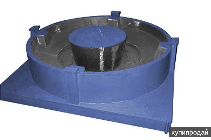 Форма для производства плиты опорной разгрузочной УОП-6