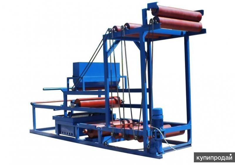 Автоматизированная линия для производства наплавляемых кровельных материалов (ст
