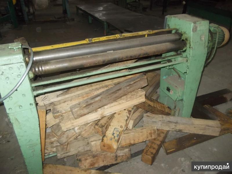 Вальцы электромеханические 3-х валковые (1,5мм  х1070мм) ГДР