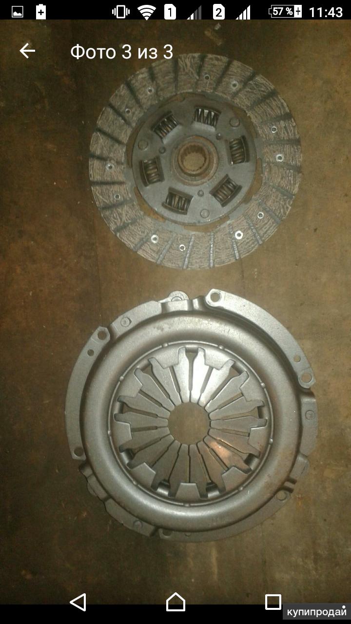 Корзина и диск сцепления ваз 2114