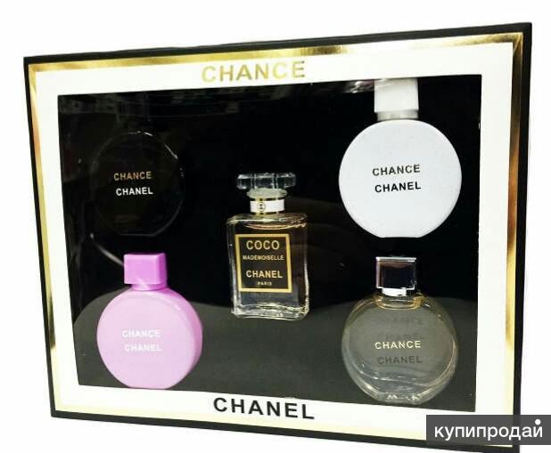 5 в 1 Шанель парфюм набор