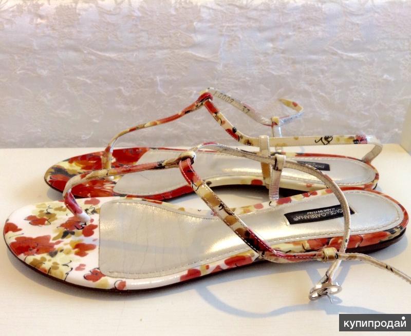 Dolce Gabbana босоножки размер 37