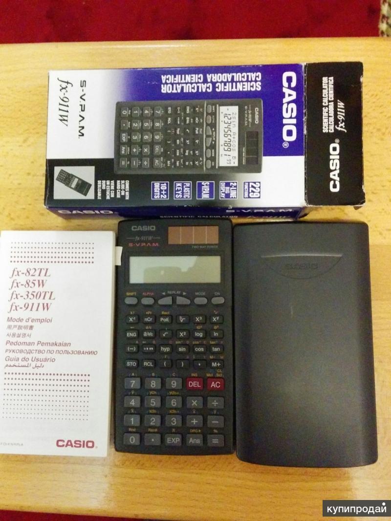 Калькулятор Casio fx-911w