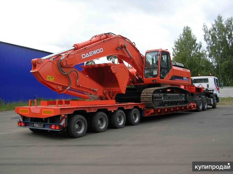 Перевозка негабаритных грузов по Росcии