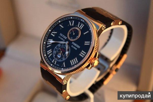 Часы Ulysse Nardin Marine: копия и оригинал, разница в цене