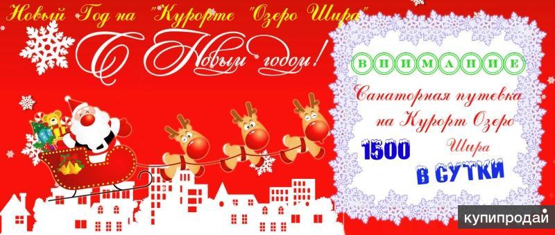 """Новый год на """"Курорте """"Озеро Шира""""!"""