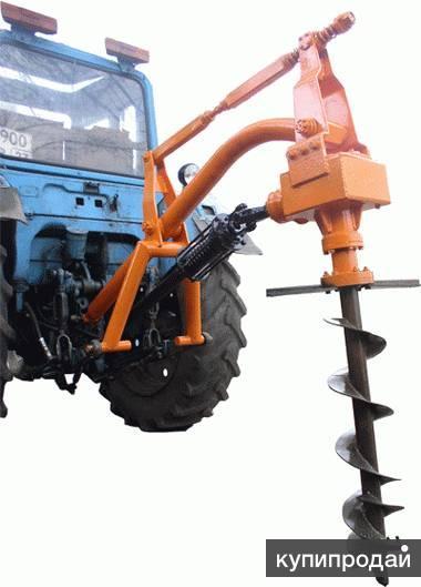 показать фото самодельного ямобура на трактор мтз этом даже