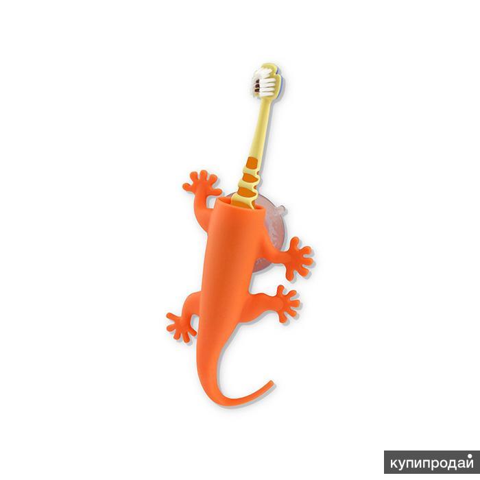 Держатель для зубной щетки Larry оранжевый