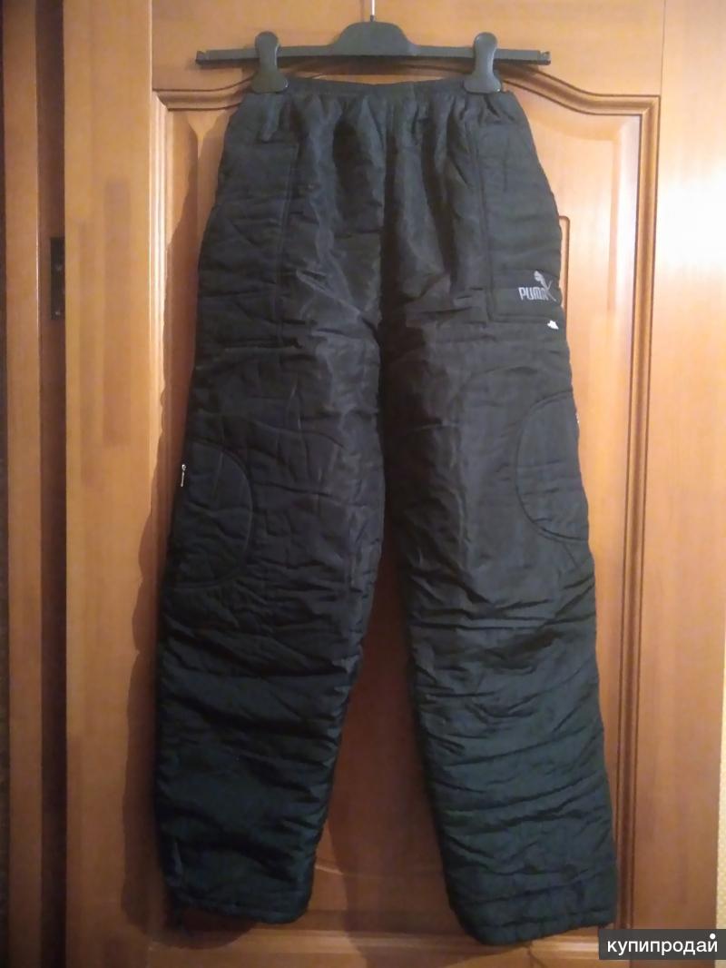 Утепленные брюки для девочки или мальчика