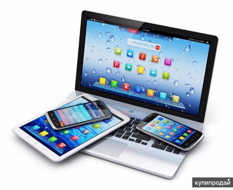 картинки компьютера планшета смартфона используется для создания