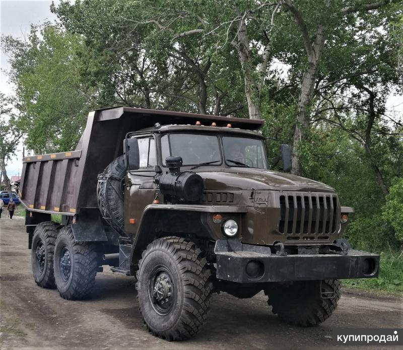 Самосвал Урал 5557