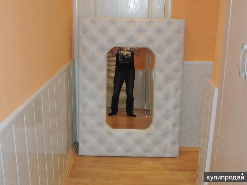 Зеркало. Каретная стяжка. Новое. 100см.Х135см