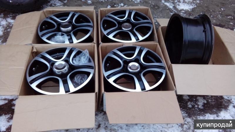 Новые диски R16 на уаз
