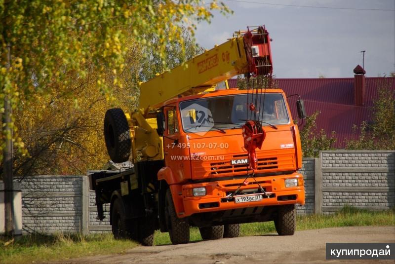 """Автокран """"Ивановец"""" КС-35714К-3 г/п 16 тн, стрела 18 м."""