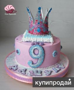 Красивый и вкусный торт.