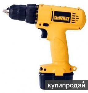 DeWalt 907 K2 NiCd 1.3Ач аккум. дрель шур. новая 2008 года выпуска