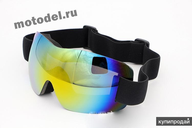 Очки (маска) X900 для снегохода, сноуборда, лыж, мотокросса, новые