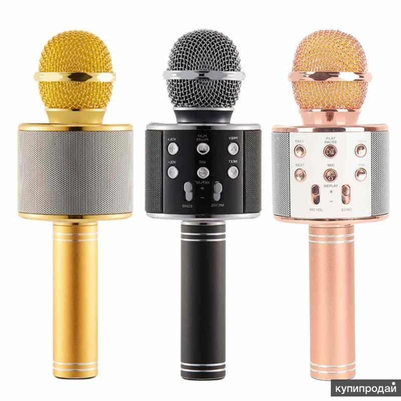 Беспроводной Bluetooth караоке микрофон hifiws-858