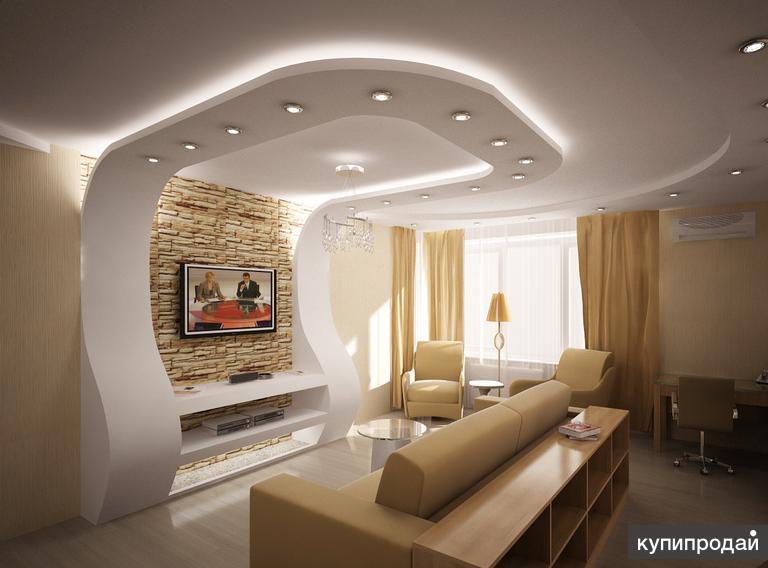 Ремонт и отделка помещений, квартир, офисов под ключ
