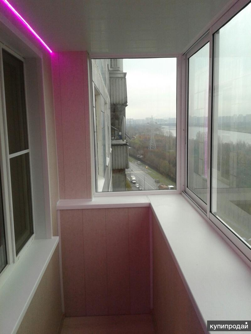 Остекление_утепление_отделка балконов и лоджий москва.