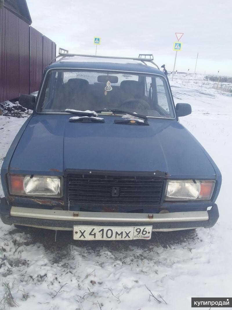 ВАЗ 2107 СИНИЙ